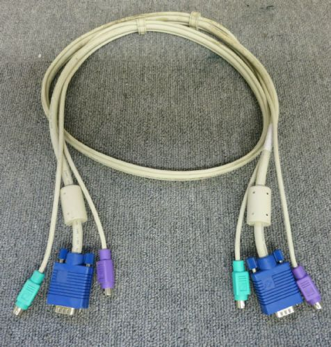 Black Box EHN408-0005 ServSwitch 5FT 1.5M KVM Computer Cable VGA-PS/2